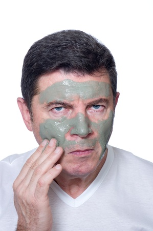 man skin care photo