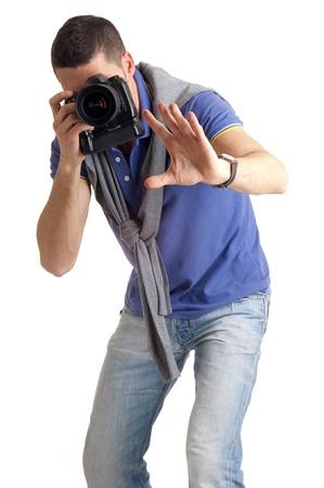 photograph at work