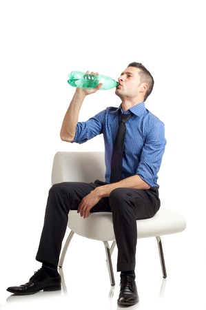 man drink water Stock Photo - 11856193