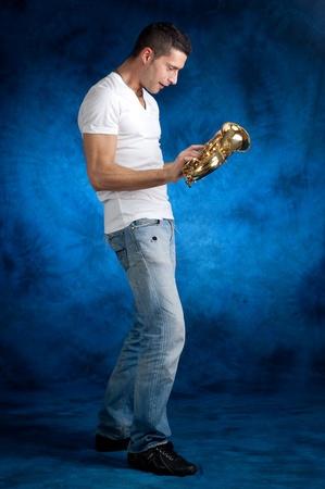 tenor: man with sax