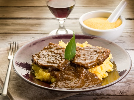 braised: braised meat with  porridge