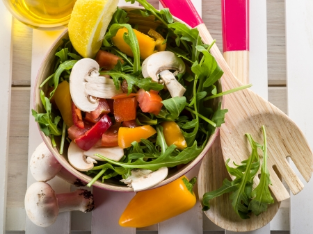 food dressing: mixed salad