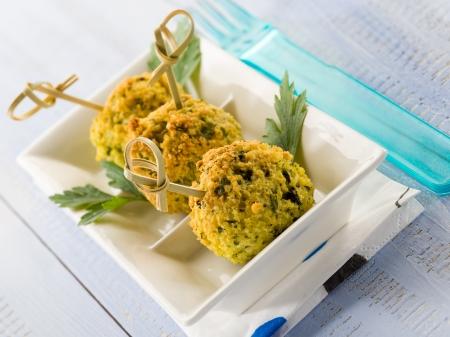 millet: millet vegetarian meatballs