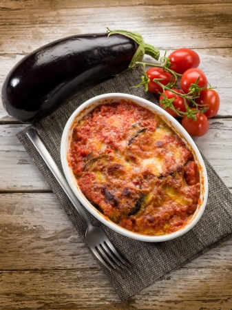 eggplants parmigiana traditional italian recipe