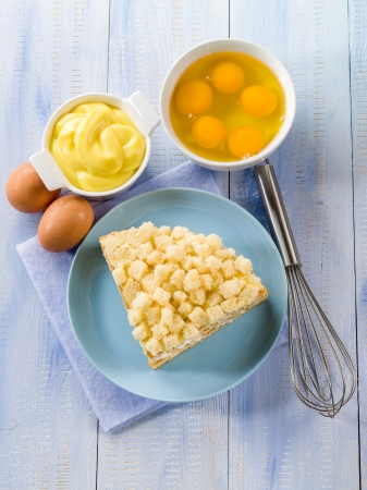 mimosa: homemade mimosa cake