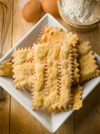 chiacchiere: chiacchiere typical carnival dessert