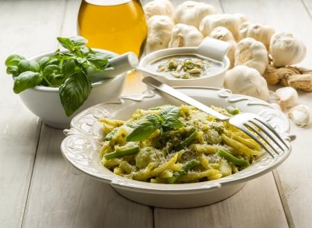 pesto trofie typical genoa recipe
