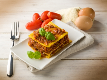 lasagna: lasa�a vegetariana casera