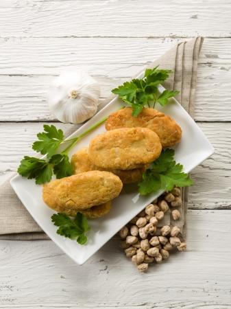 croquettes: chickpeas croquettes