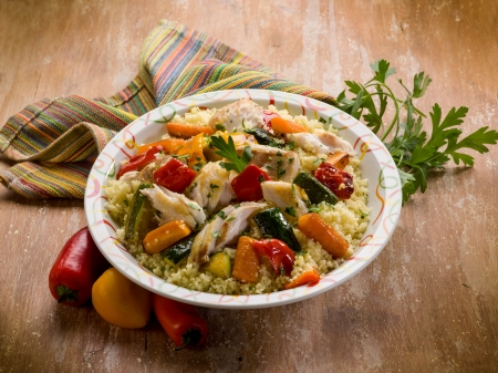 couscous with fish and vegetables
