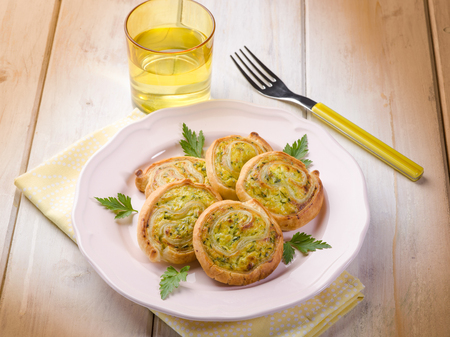 canape: zucchinis canape