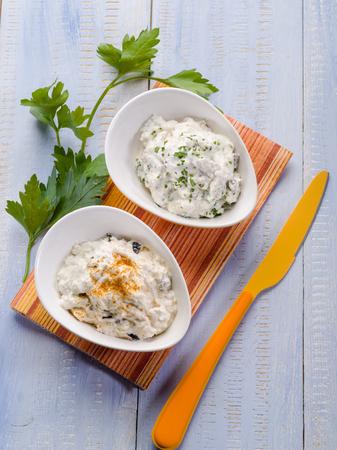 tzatziki: tzatziki traditional greek appetizer Stock Photo