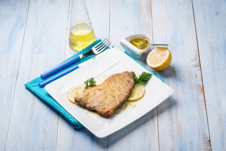 pez espada: el pez espada al horno con adobo