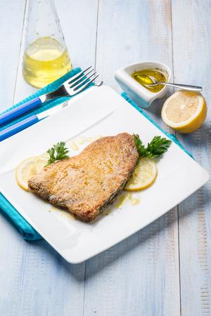 seared: baked swordfish with marinade