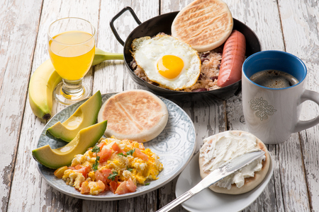 colombian food: traditional colombian breakfast