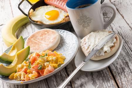 コロンビアの伝統的な朝食