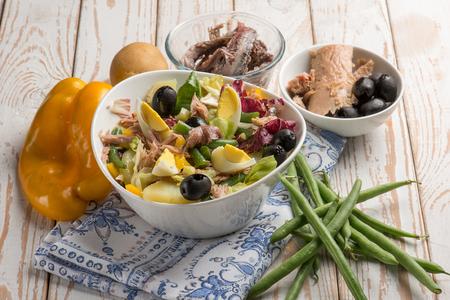 nicoise mixed salad