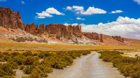 landsape: Landsape in Atacama desert Stock Photo