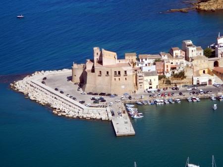 castellammare del golfo: The castle of Castellammare del Golfo