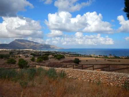 Una pittoresca vista da Custonaci