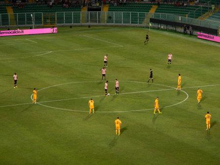 PALERMO, ITALIA - 17 agosto 2013 - US Citta di Palermo v Hellas Verona - TIM CUP