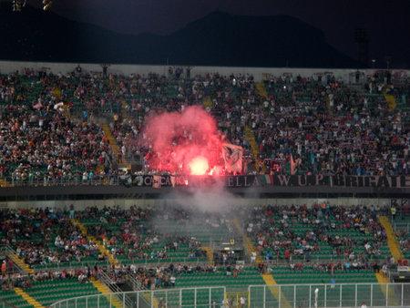PALERMO, ITALIA - 17 agosto 2013 - US Città di Palermo vs Hellas Verona - TIM CUP