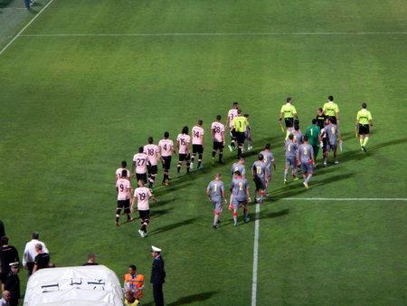 PALERMO, ITALIA - 11 agosto 2013 - US Città di Palermo vs US Cremonese - TIM CUP