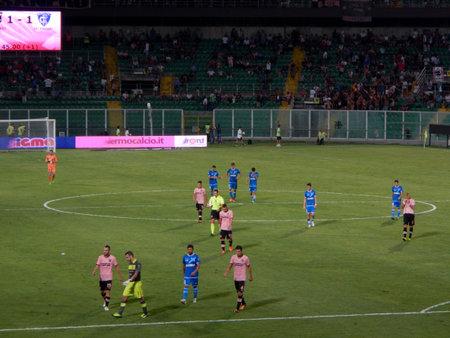 PALERMO, ITALIA - 31 agosto 2013 - US Città di Palermo vs Empoli FC - Serie B Editoriali