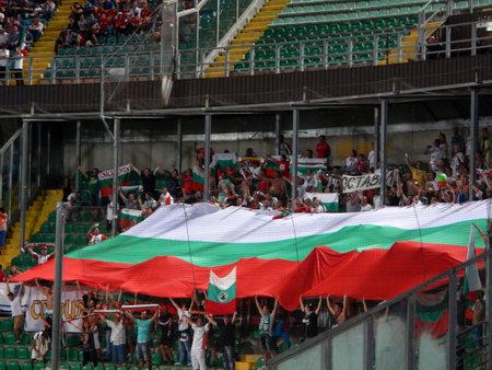 Palermo, Italia - 2013, 6 settembre - Italia vs Bulgaria - 2014 FIFA World Cup Qualifier Editoriali
