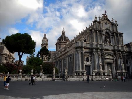 La facciata della Cattedrale di Catania