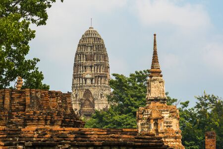 Parque histórico de Ayutthaya, Tailandia