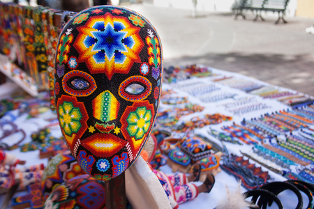 Mexican carnival mask