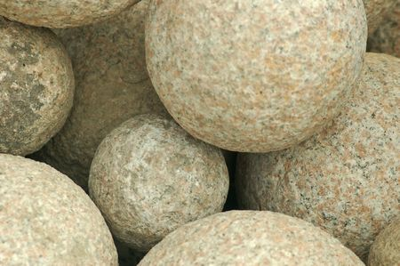 A rounded rock textured background
