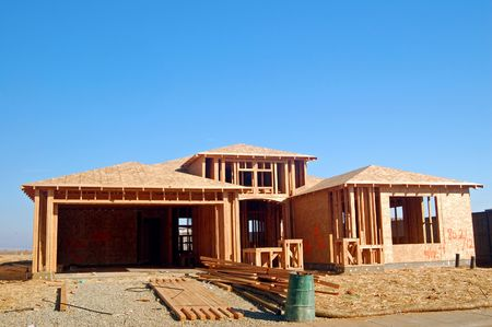 residental: houses under construction