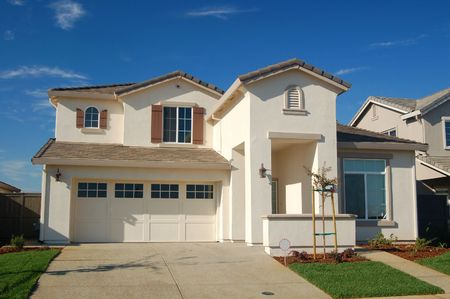 A house in the suburbs Stock Photo - 263020