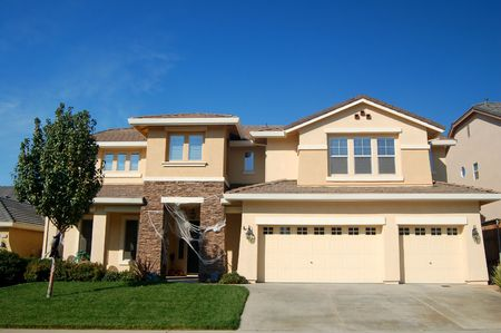 An upscale house in California Stock Photo - 278876