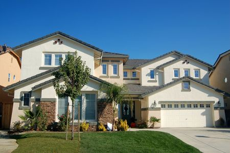 An upscale house in California Stock Photo - 278875