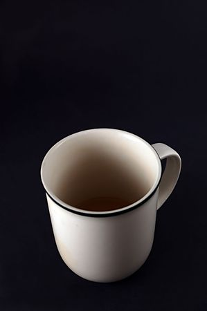 Coffee Cup, black background