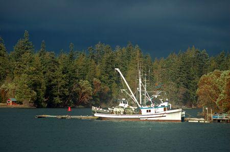 commercial fishing boat 版權商用圖片