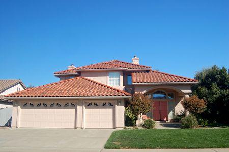 suburban house in califronia