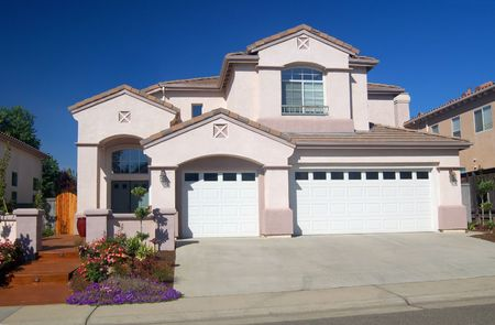 house in the suburbs Stock Photo - 334767