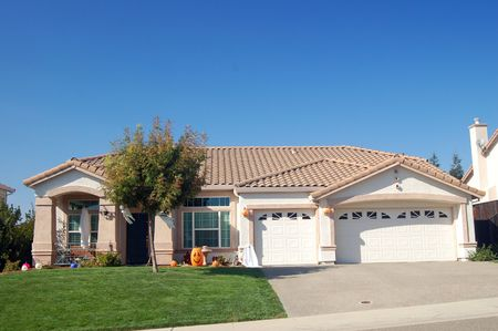 house in the suburbs photo