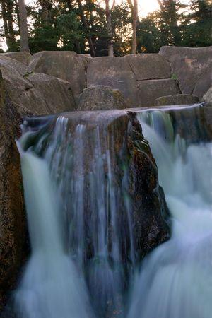 waterfall in golden gate park 版權商用圖片