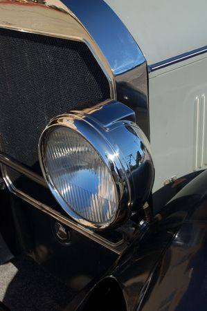 classic car on a street in San Francisco Stock fotó