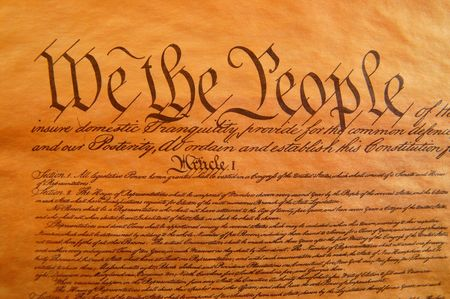 Preamble to the Constitution photo
