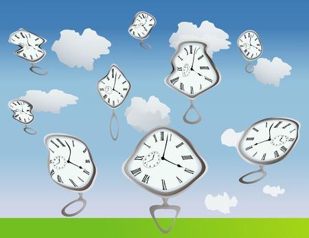 chronologie: Obtenir de Clockes les a d�form�s pr�s, bien, sont juste d�form�s, emploient votre imagination :)