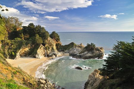 mcway: McWay Falls, Big Sur, Julia Pfeiffer Burns State Park