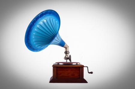 Old gramophone  photo