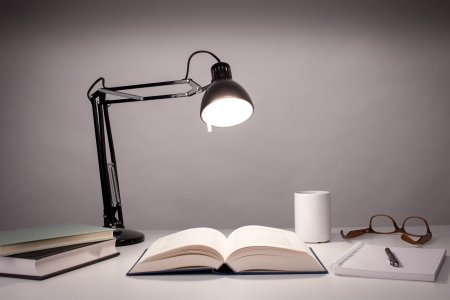 office furniture: Desk lamp