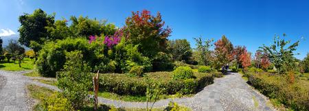 The Gardens of the Three Pagodas (San Ta Si), Dali, Yunnan, China